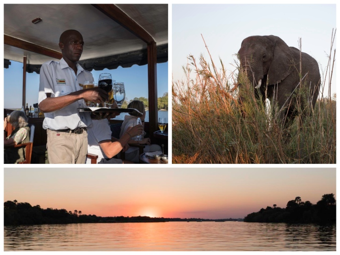 Zambeze Cruise Collage